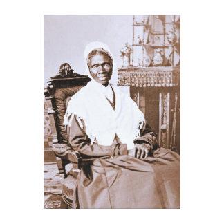Portrait of Sojourner Truth circa 1870 Canvas Print