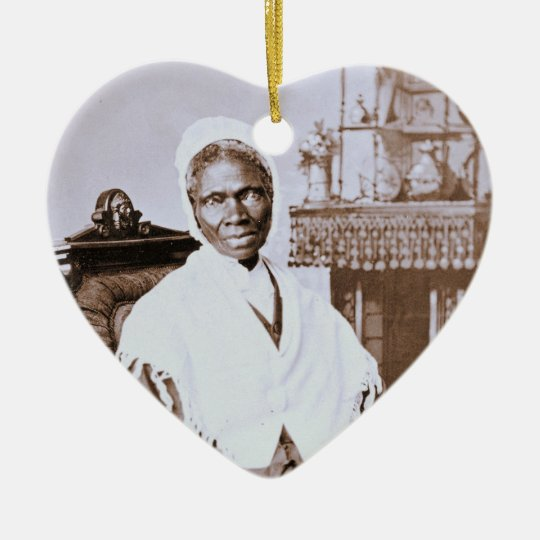 Portrait of Sojourner Truth circa 1870 Ceramic Ornament