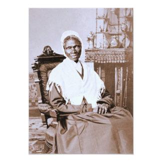 Portrait of Sojourner Truth circa 1870 5x7 Paper Invitation Card
