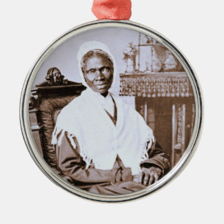 Portrait of Sojourner Truth circa 1870 Metal Ornament