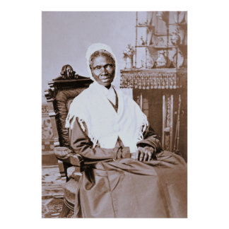 Portrait of Sojourner Truth circa 1870 Poster