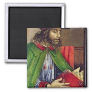 Portrait of Solon  c.1475 2 Inch Square Magnet
