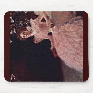Portrait Of Sonja Knips By Klimt Gustav Mouse Pad
