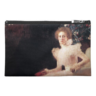 Portrait of Sonja Knips ; Gustav Klimt Painting Travel Accessories Bag