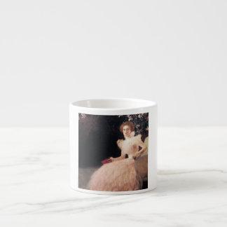 Portrait of Sonja Knips ; Gustav Klimt Painting Espresso Cup