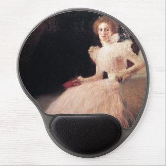 Portrait of Sonja Knips ; Gustav Klimt Painting Gel Mouse Pad