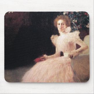 Portrait of Sonja Knips ; Gustav Klimt Painting Mouse Pads
