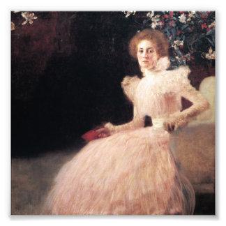 Portrait of Sonja Knips ; Gustav Klimt Painting Photo Print