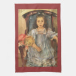 Portrait of Sophie Cassirer by Lovis Corinth Hand Towels