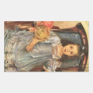 Portrait of Sophie Cassirer by Lovis Corinth Rectangular Sticker
