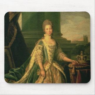 Portrait of Sophie Charlotte Mouse Pad