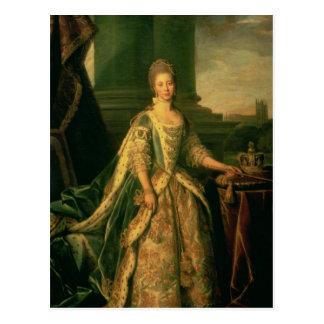 Portrait of Sophie Charlotte Postcard
