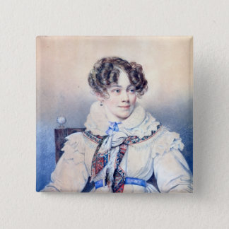 Portrait of Sophie Rostopchine Button