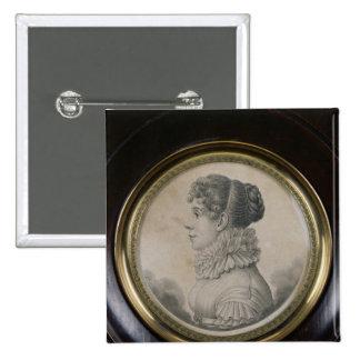 Portrait of Sophie Rostopchine  Comtesse de Pinback Button