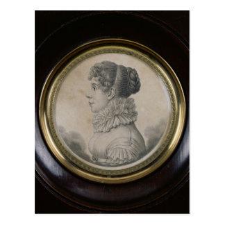Portrait of Sophie Rostopchine  Comtesse de Postcard