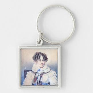 Portrait of Sophie Rostopchine Keychain