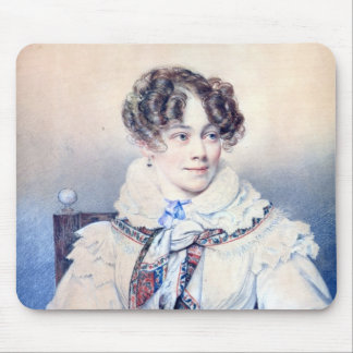 Portrait of Sophie Rostopchine Mouse Pad