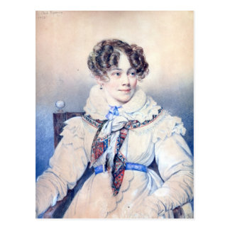 Portrait of Sophie Rostopchine Postcard