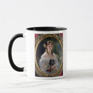 Portrait of Sophie Troubetskoy  Countess of Mug