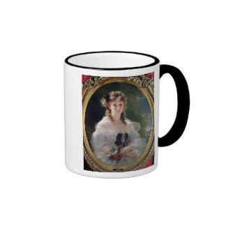 Portrait of Sophie Troubetskoy  Countess of Ringer Coffee Mug
