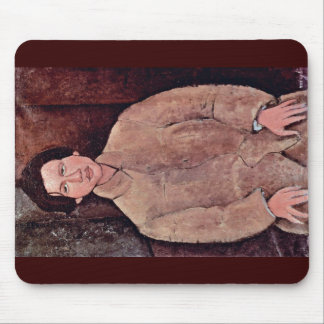 Portrait Of Soutine Chaiim By Modigliani Amedeo Mouse Pad