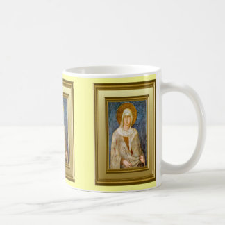 Portrait of St Clare, Assisi Classic White Coffee Mug