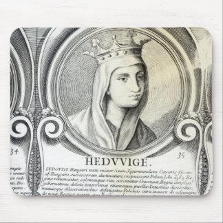 Portrait of St.Jadwiga Mouse Pad