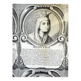 Portrait of St.Jadwiga Postcard