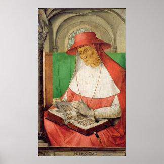 Portrait of St. Jerome  c.1475 Poster