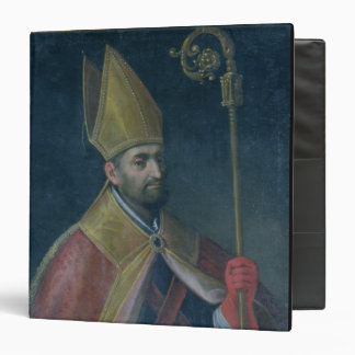 Portrait of St. Nicholas, 1700 (oil on canvas) 3 Ring Binder
