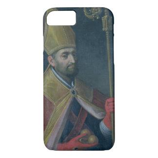 Portrait of St. Nicholas, 1700 (oil on canvas) iPhone 8/7 Case