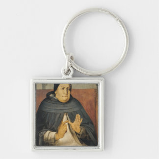 Portrait of St. Thomas Aquinas  c.1475 Keychain