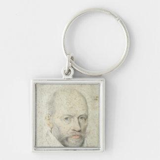 Portrait of St. Vincent de Paul Keychain