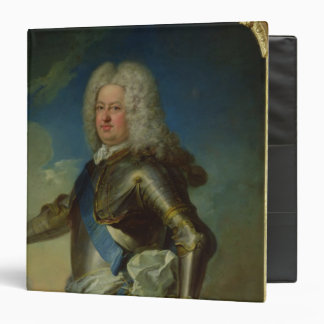 Portrait of Stanislas Lesczinski  King of Poland 3 Ring Binder