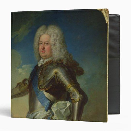 Portrait of Stanislas Lesczinski  King of Poland 3 Ring Binder