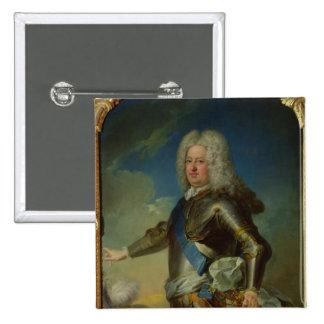 Portrait of Stanislas Lesczinski  King of Poland Pinback Button