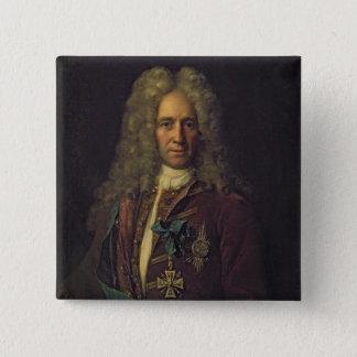 Portrait of State Chancellor Count G. Golovkin Button