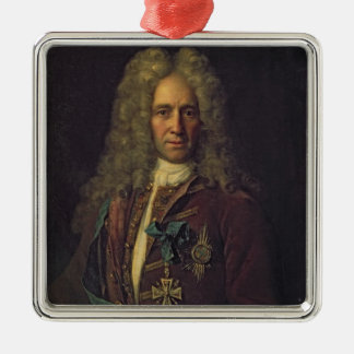 Portrait of State Chancellor Count G. Golovkin Metal Ornament