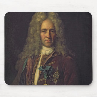 Portrait of State Chancellor Count G. Golovkin Mouse Pad