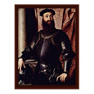 Portrait Of Stefano Colonna. By Bronzino Angelo Postcard