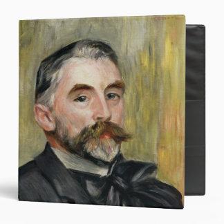 Portrait of Stephane Mallarme  1892 3 Ring Binder
