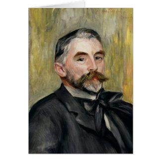Portrait of Stephane Mallarme  1892 Card