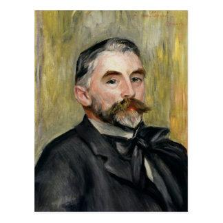 Portrait of Stephane Mallarme  1892 Postcard
