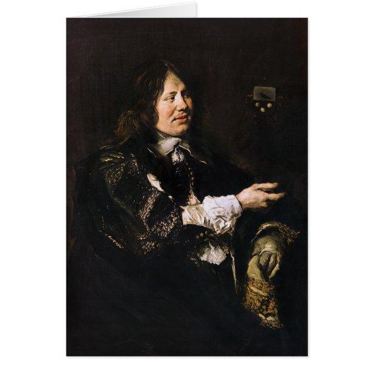 Portrait of Stephanus Geeraerdts Card