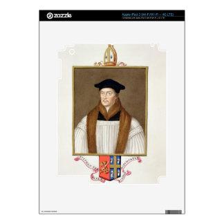 Portrait of Stephen Gardiner (c.1483-1555) Bishop Skins For iPad 3
