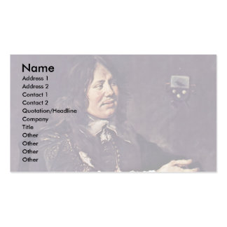 Portrait Of Stephen Geraedts By Hals Frans Business Cards
