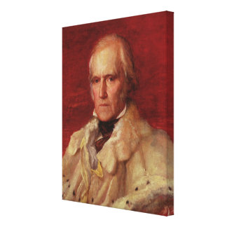 Portrait of Stratford Canning Canvas Print