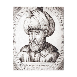 Portrait of Suleiman the Magnificent Canvas Print