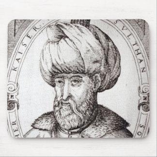 Portrait of Suleiman the Magnificent Mouse Pad