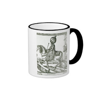 Portrait of Suleiman the Magnificent Ringer Coffee Mug
